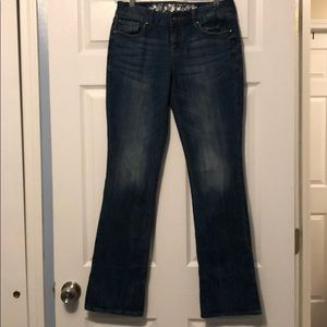 NWOT Eva Barely Boot Curvy Fit Jeans Size 4